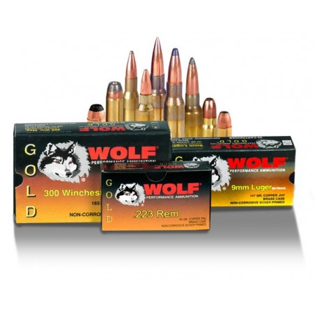 Wolf Gold Pistol Ammunition