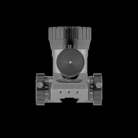 Centra Rear Sight Spy Cromo